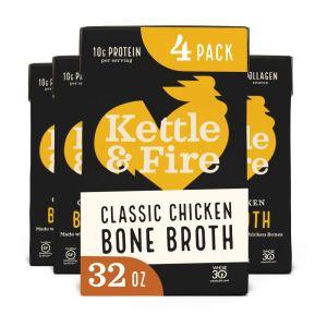 kettle & fire bone broth, best bone broth