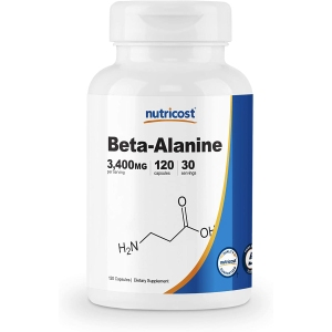 nutricost beta-alanine, supplements for muscle growth