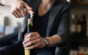 cork opening wine bottle, how to store wine
