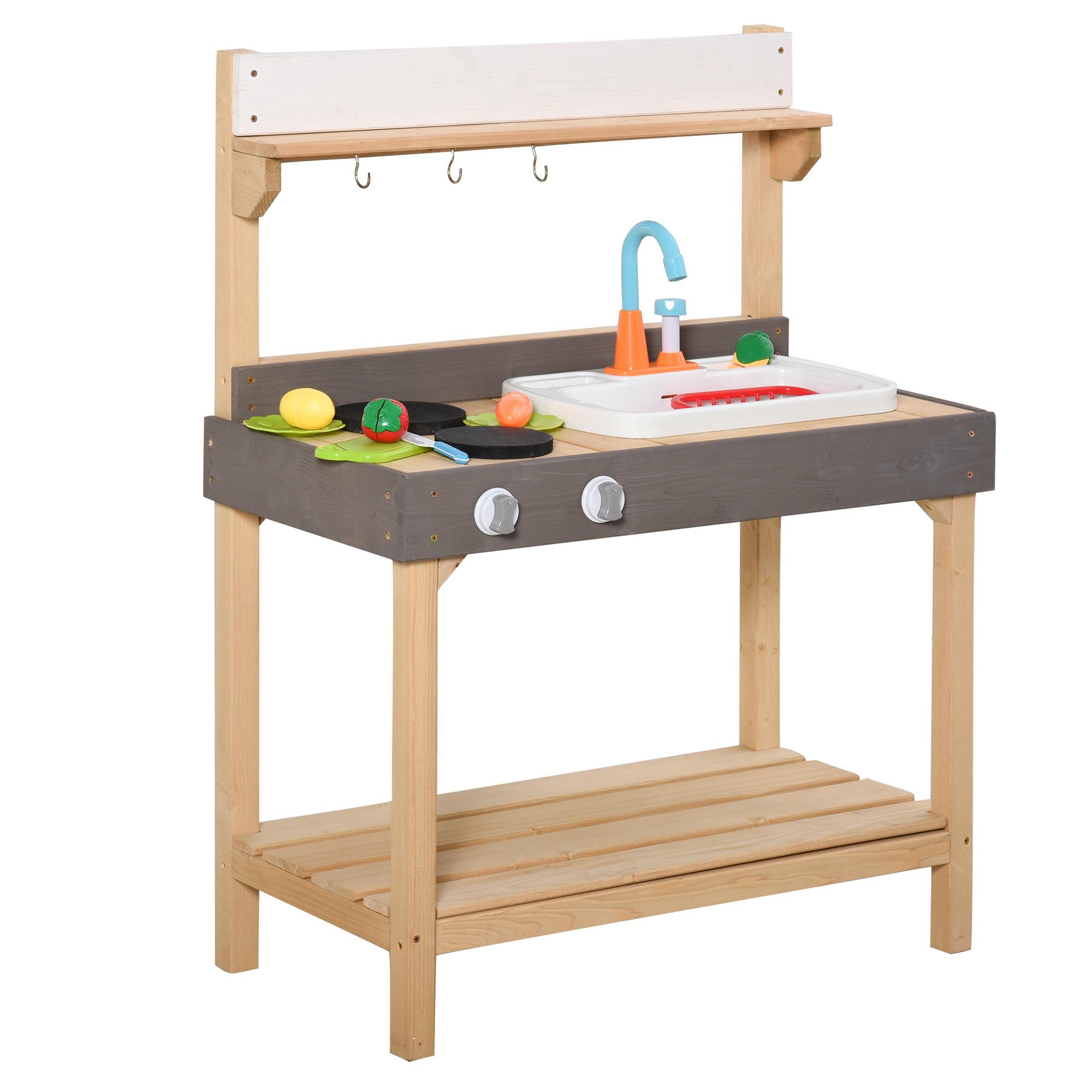 outsunny kids kitchen, best mud kitchens for kids