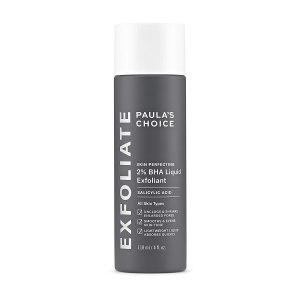 paula's choice BHA chemical exfoliant, chemical exfoliants for face