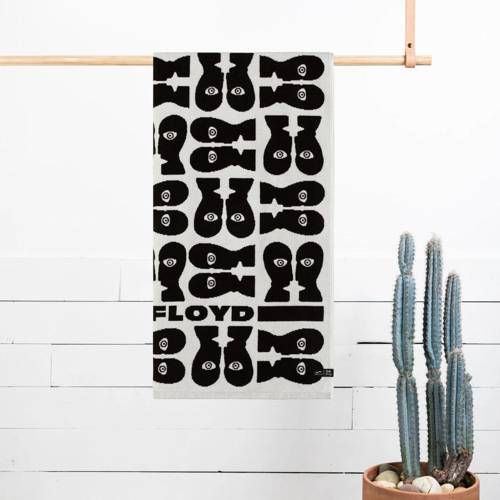 SlowTide Pink Floyd Towel