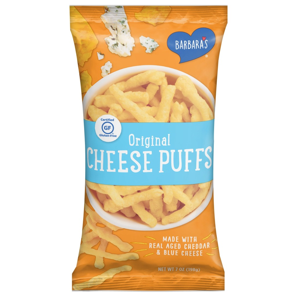 Barbara's Cheese Puffs, Best Snack Foods