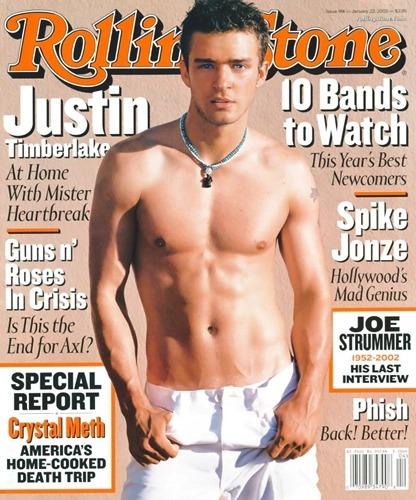 Justin Timberlake Rolling Stone
