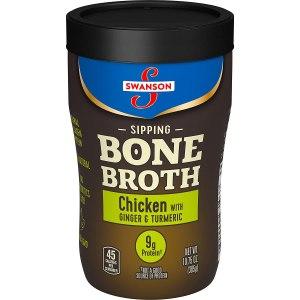 swanson sipping bone broth