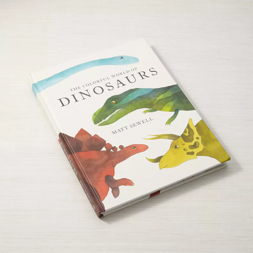The Colorful World of Dinosaurs Book