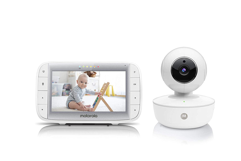 "Motorola Video Baby Monitor 5"" Color Parent Unit, best video baby monitors"