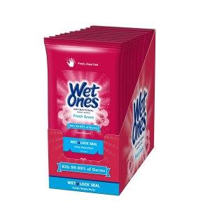 wet ones wipes, gym bag essentials