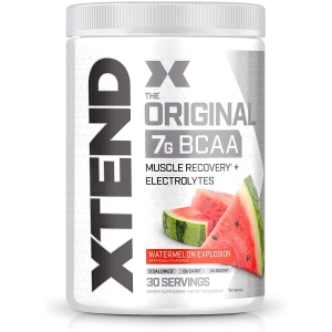 XTEND BCAA powder, supplements for muscle growth