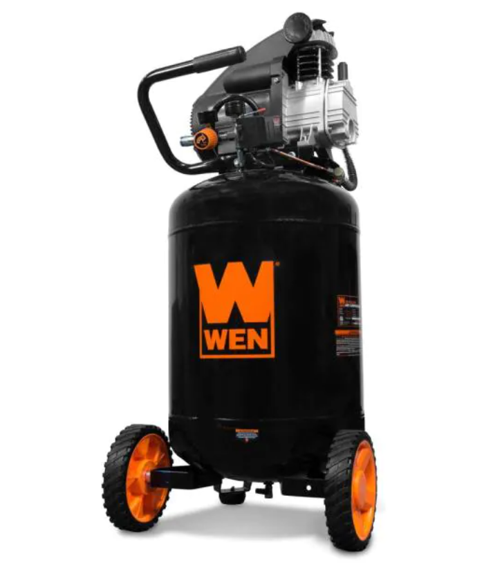 20 Gal. Oil Lubricated Portable Vertical Air Compressor by WEN