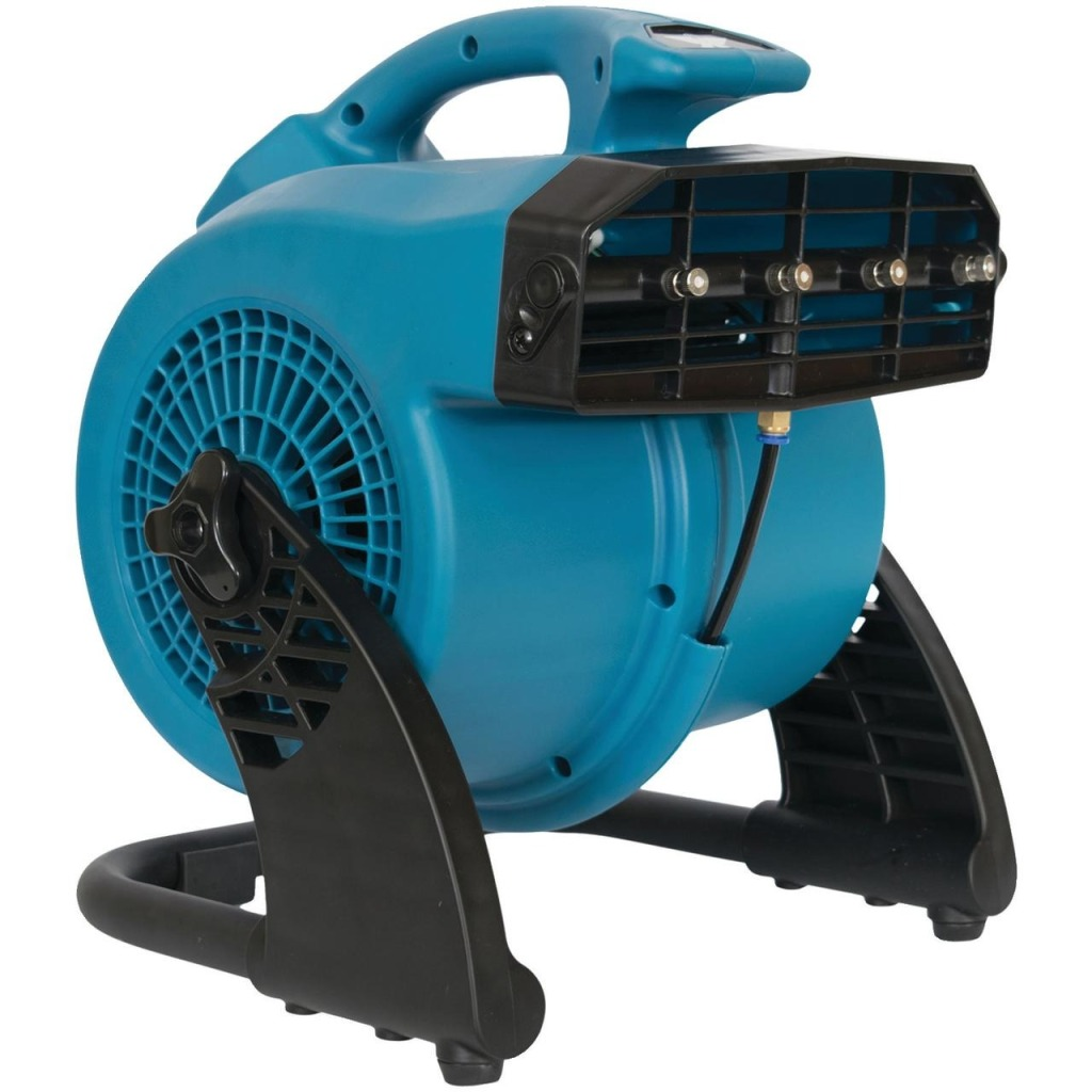 XPOWER FM-48 Misting Fan, misting system / patio misting system