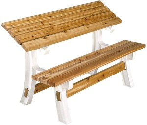 2x4basics flip top benchtable