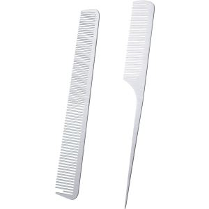 Boao Metal Tail Comb Two-Pack