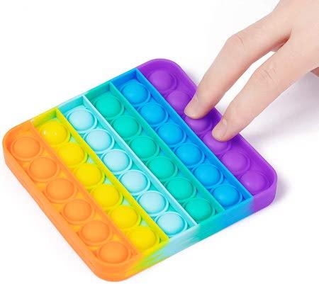 WQFXYZ Silicone Push Pop Bubble Sensory Toy, best stress toys
