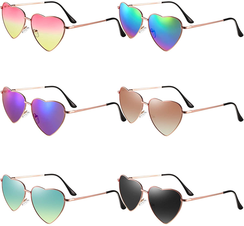 Frienda Heart Shaped Sunglasses