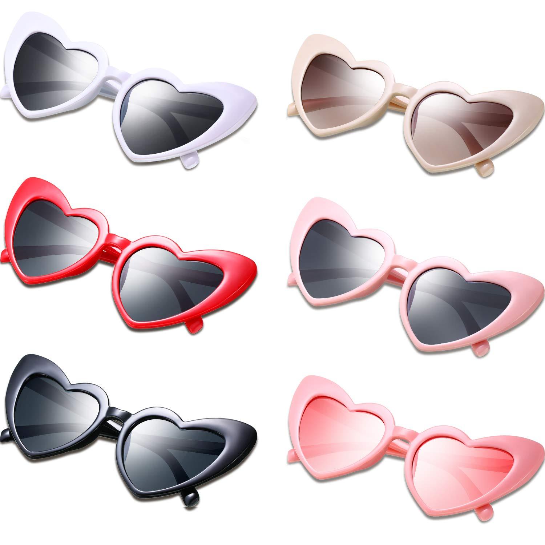 Frienda Vintage Heart Shaped Sunglasses