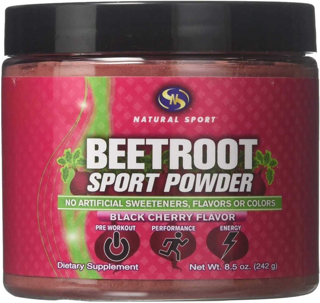 Natural Sport Beetroot Sport Powder, PreWorkout Supplements