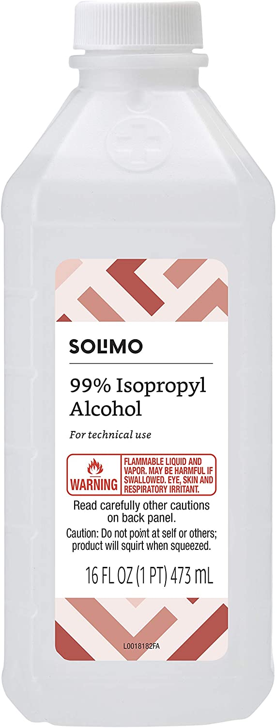 Solimo 99% Isopropyl Alcohol For Technical Use