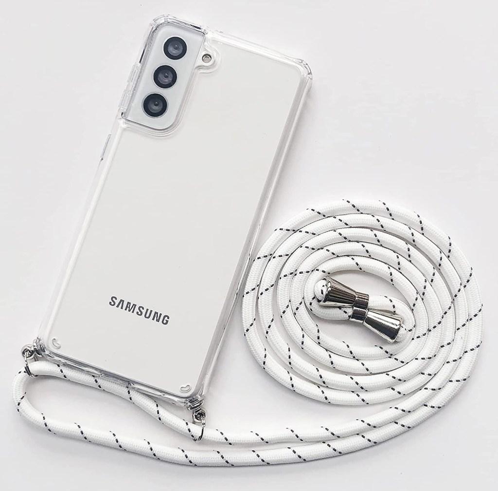 SZINTU Crossbody Lanyard Phone Pouch, best phone lanyards