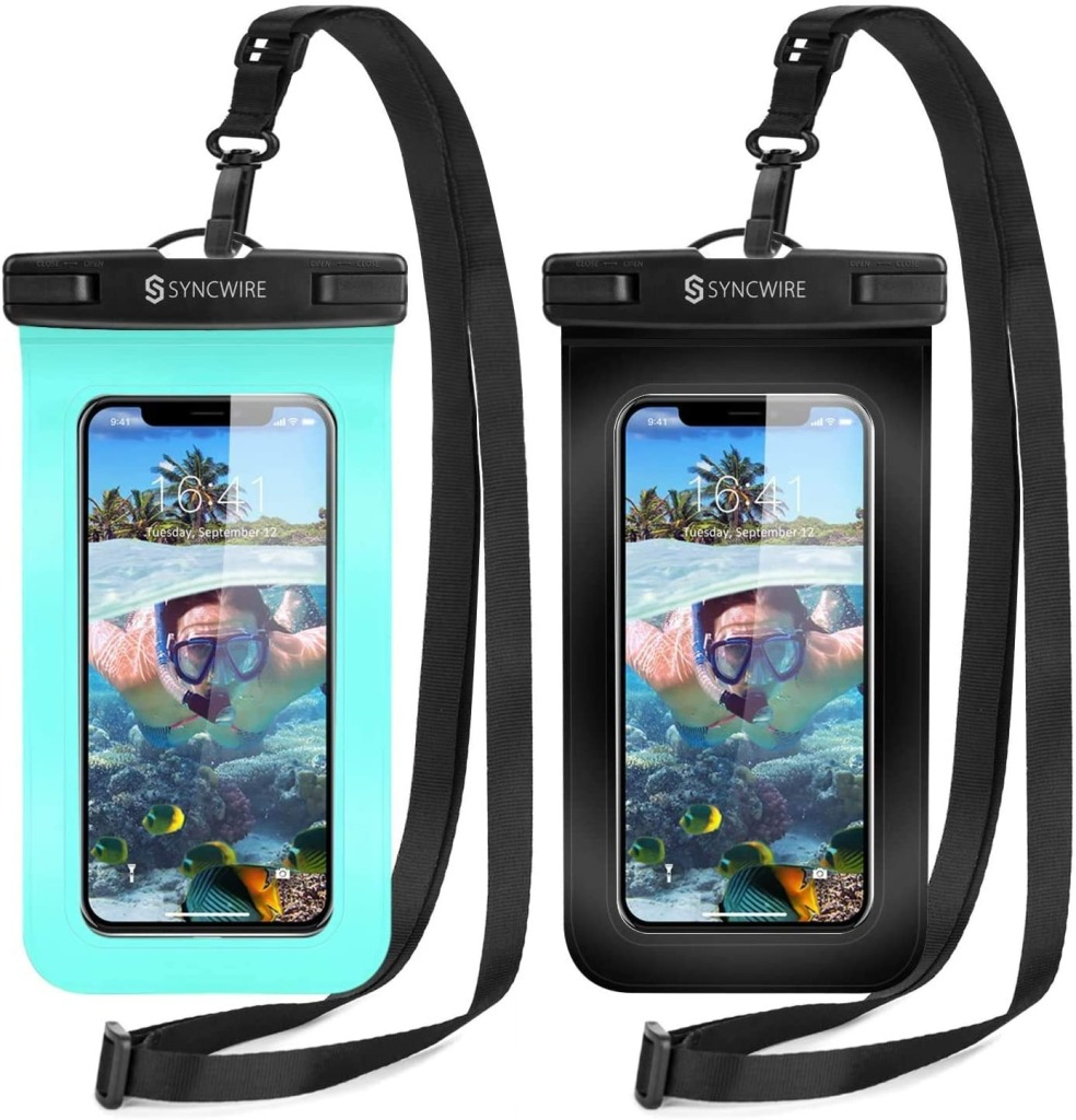 Syncwire Waterproof Phone Pouch, best phone lanyards