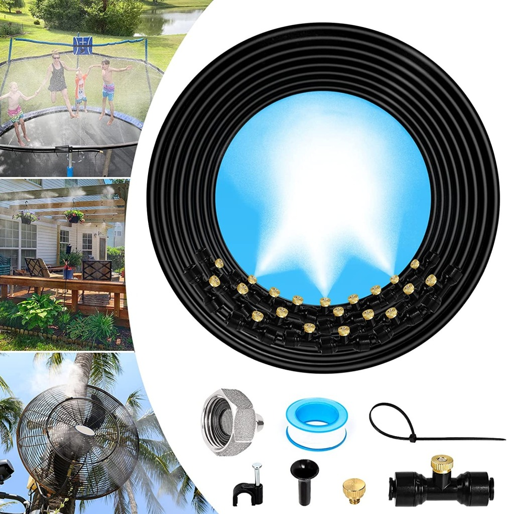 MIXC Misting Cooling System, misting system / patio misting system