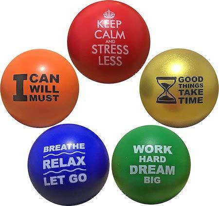 Bluetrack Inc Motivational Stress Balls, best stress toys
