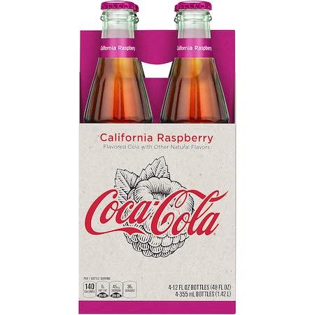Coca Cola Origins California Raspberry