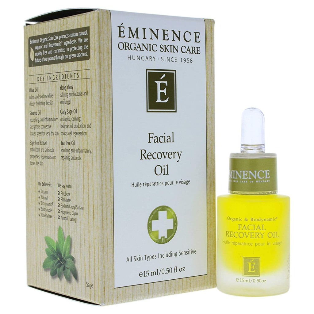Eminence Facial Recovery Oil, Best Skin Oils