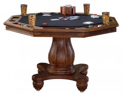 kingston wood game table