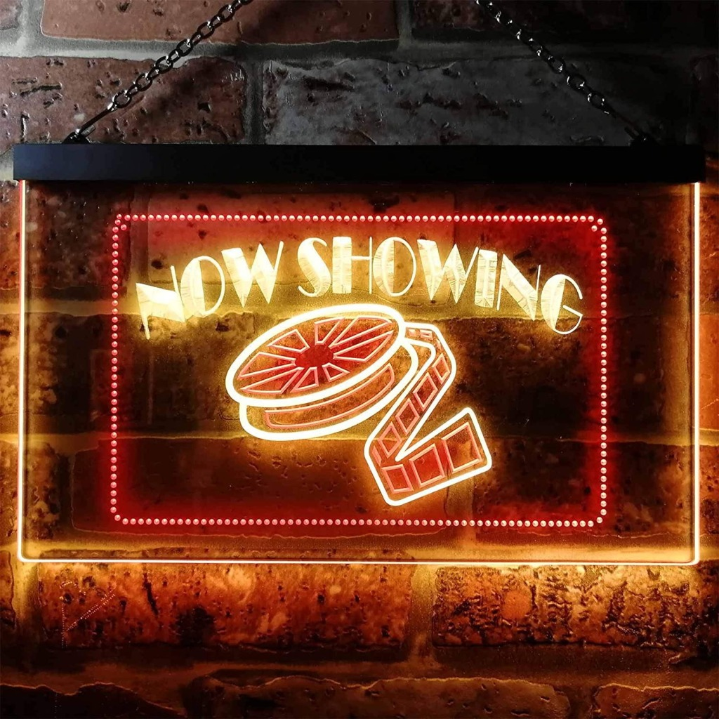 ADVPRO Now Showing Film Movie Neon Sign