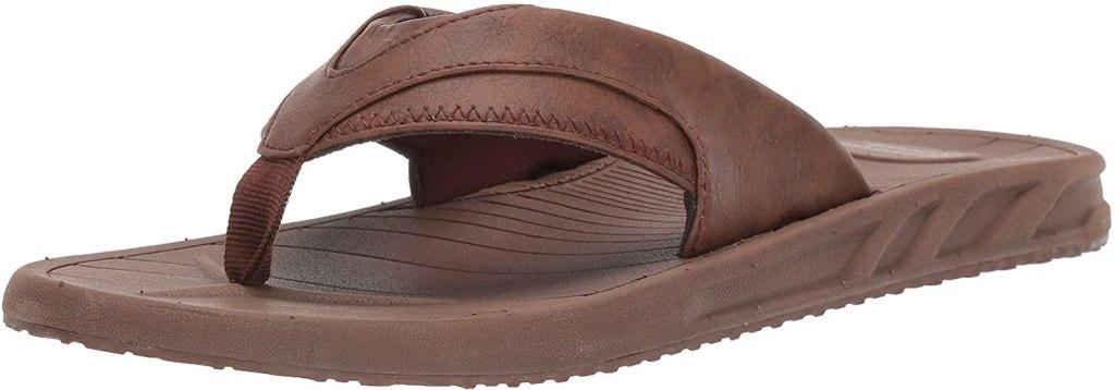 Amazon Essentials Flip Flop Sandals Vegan leather sandal