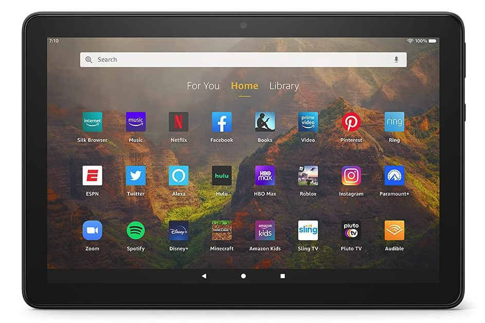 Amazon Fire HD 10 tablets for reading