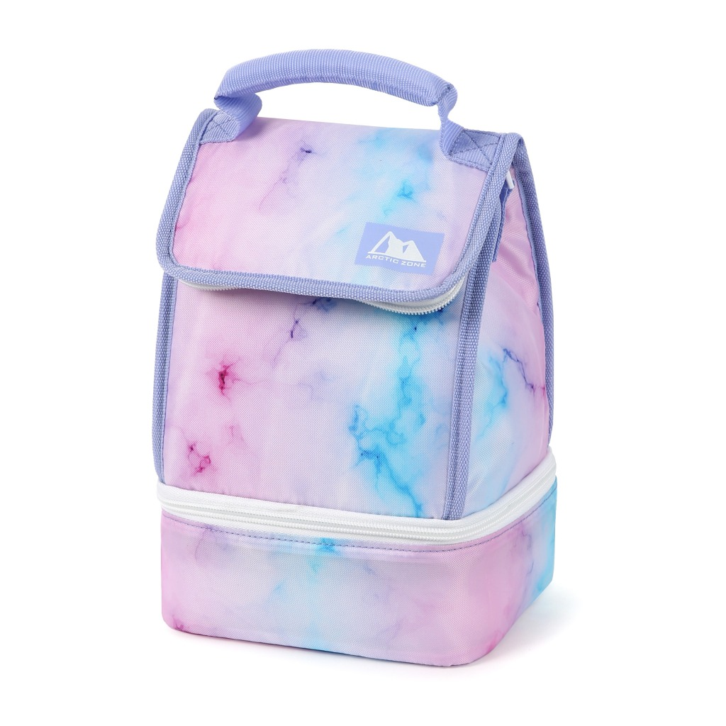 Arctic Zone Reusable Lunch Bag Plus with Microban® Protected Lining
