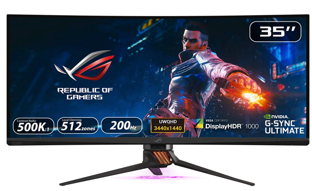 Asus Rog Swift curved monitor