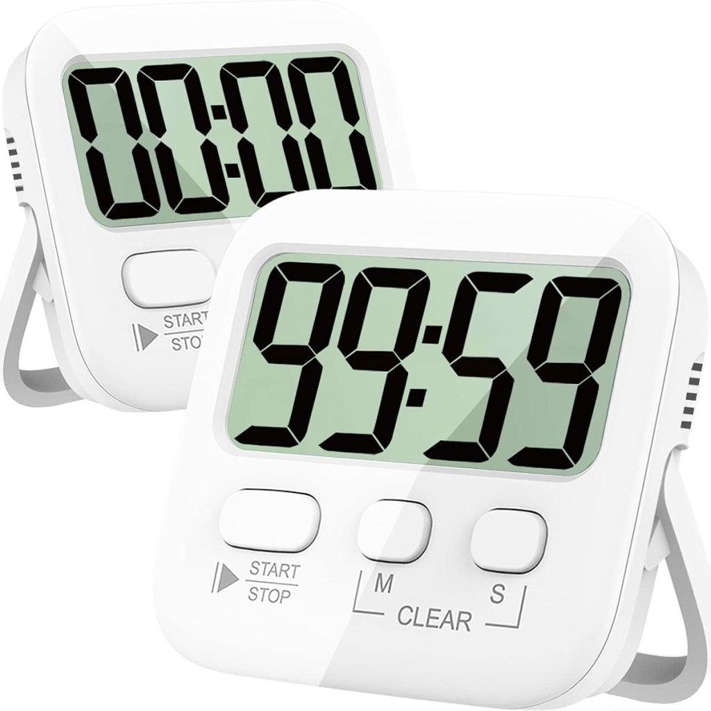 Atonki 2-Pack Digital Kitchen Timer