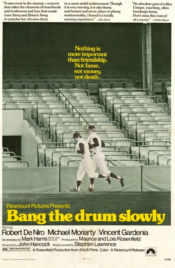 Bang the Drum Slowly movie poster