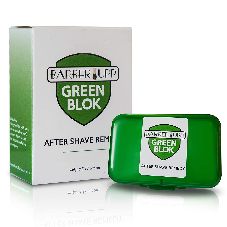 BarberUpp Alum Block box and plastic case