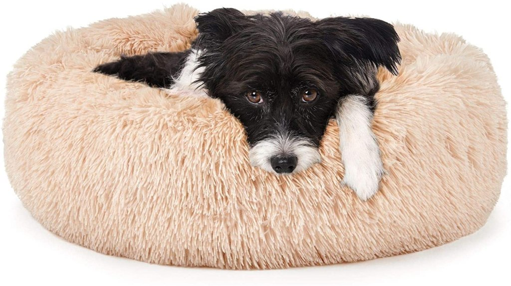 Calming Donut Cat and Dog Bed