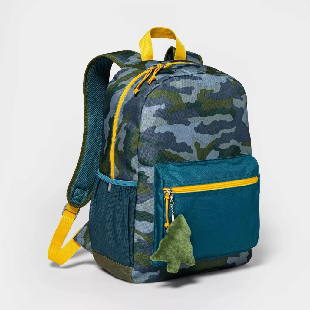 Cat & Jack Camo Backpack