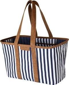 clevermade snapbasket luxe beach bag