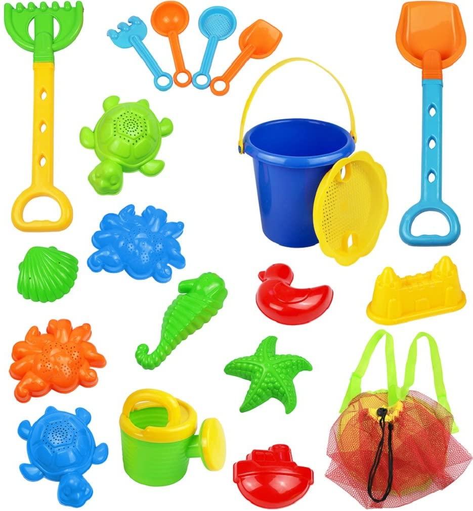 Click N Play 18 Piece Beach Sand Toy Set
