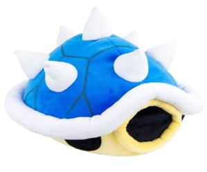 Club Mocchi Mocchi Blue Shell Plush Toy