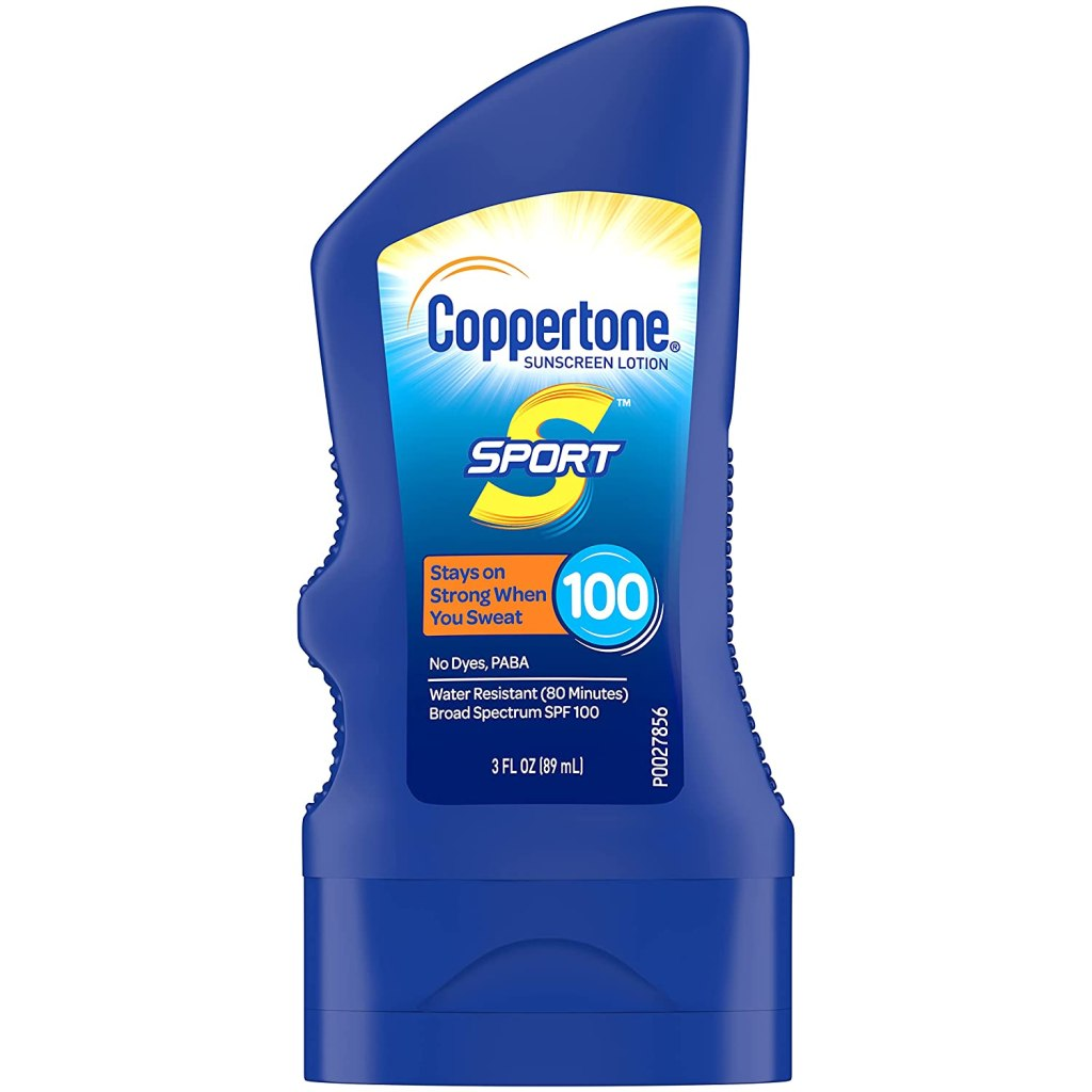 Coppertone SPORT Sunscreen Lotion Broad Spectrum SPF 100, 4 Fl OZ