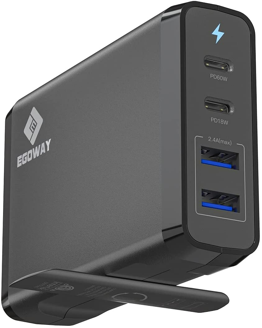 E Egoway 4-Port Charger; best iphone chargers