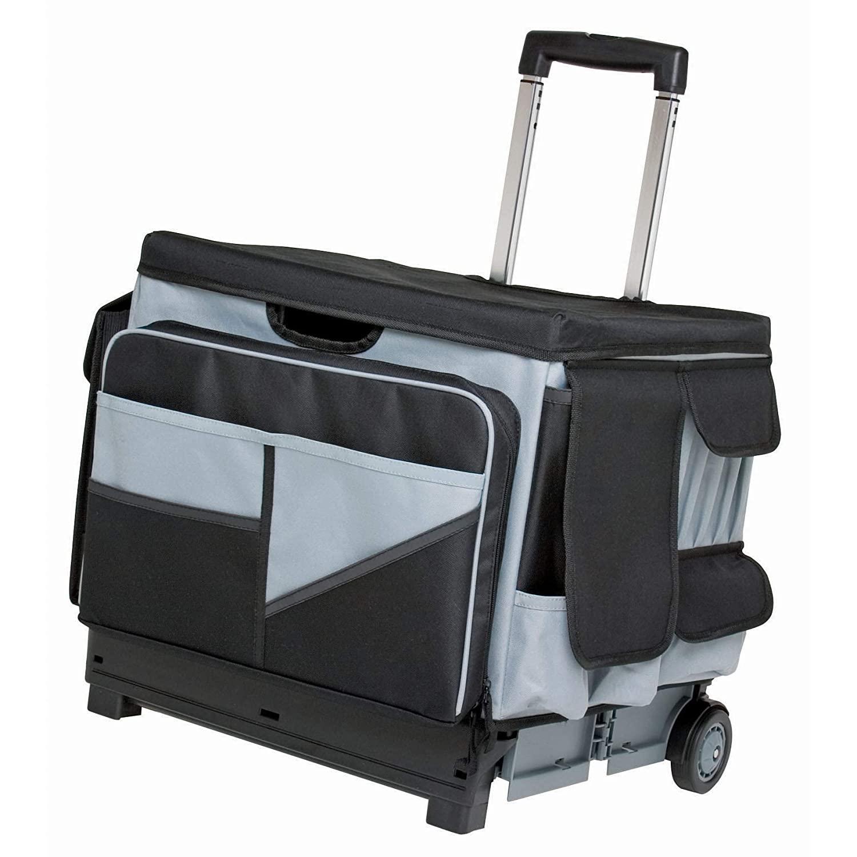 ECR4Kids Universal Rolling Cart Organizer Bag Set