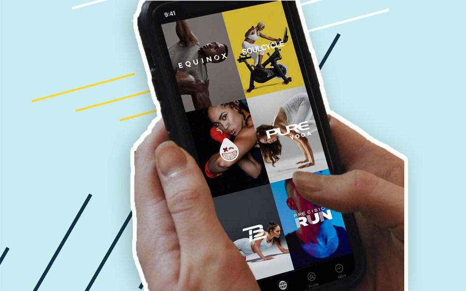 Equinox+ fitness app