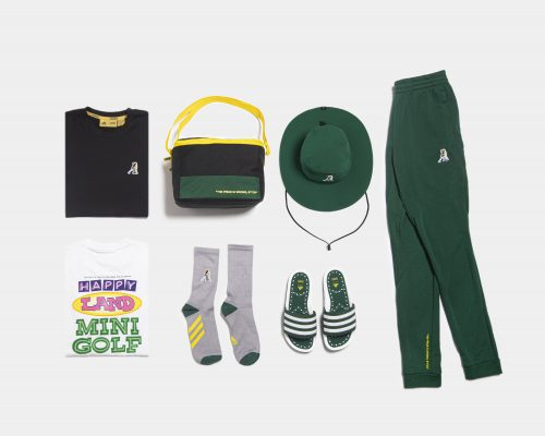 Extra Butter x Adidas Happy Gilmore Collection