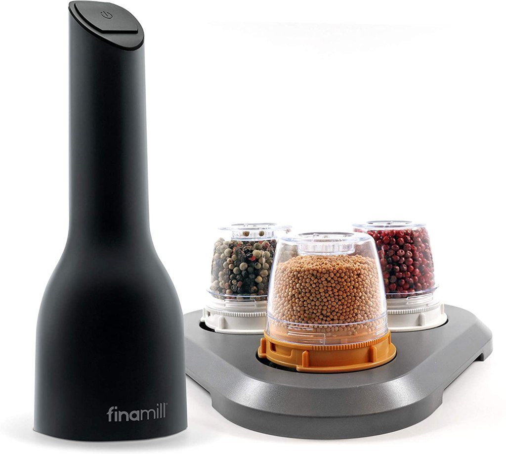 FinaMill Battery Operated Spice Grinder Gift Pack