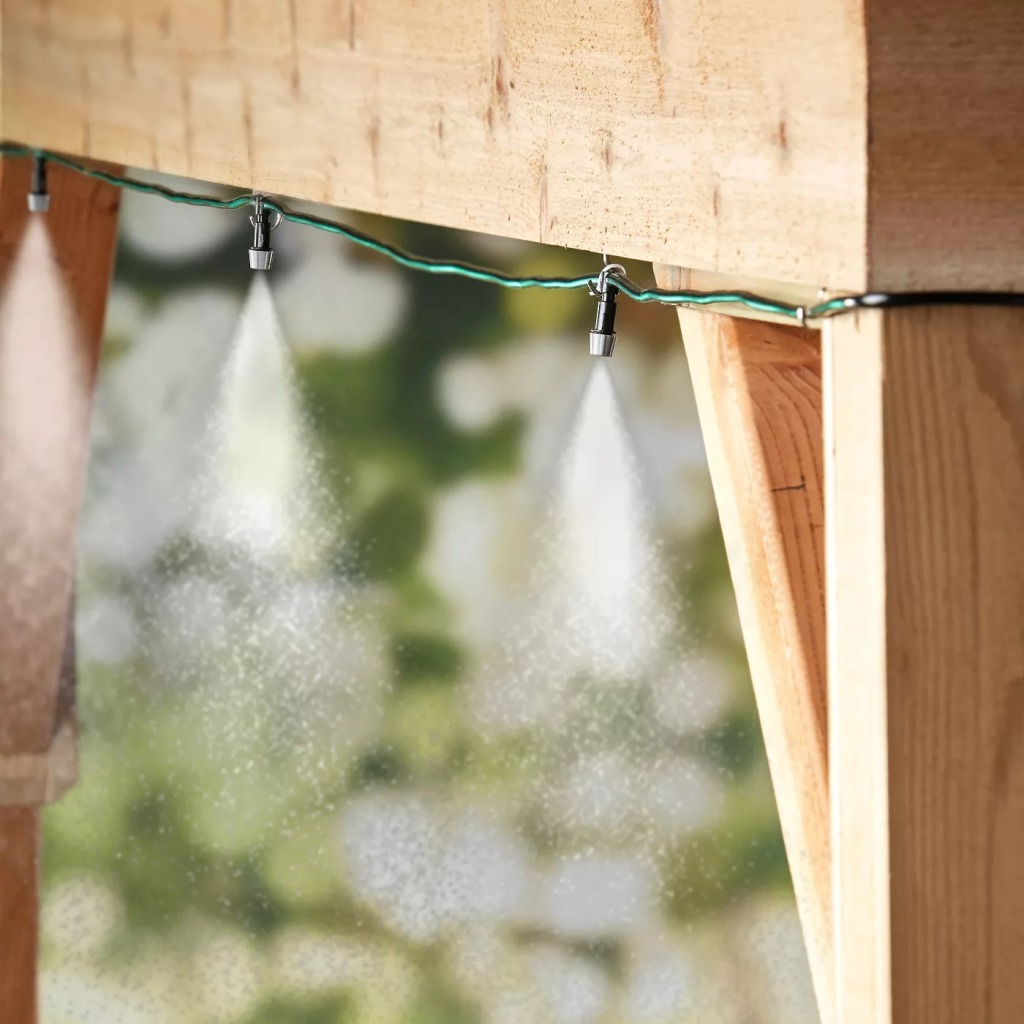 Lakeside Patio Misting System, misting system / patio misting system