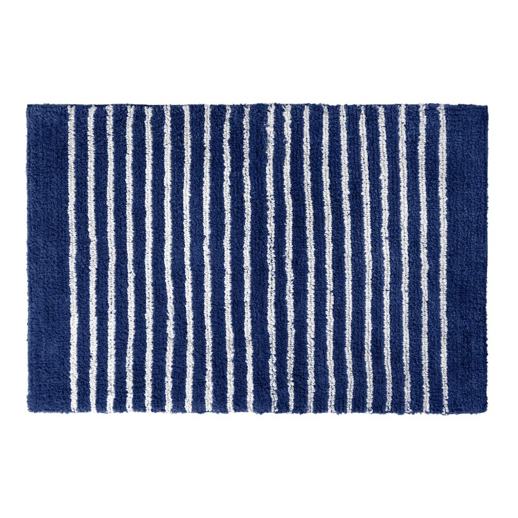 Gap Home Easy Stripe Reversible Cotton Bath Rug